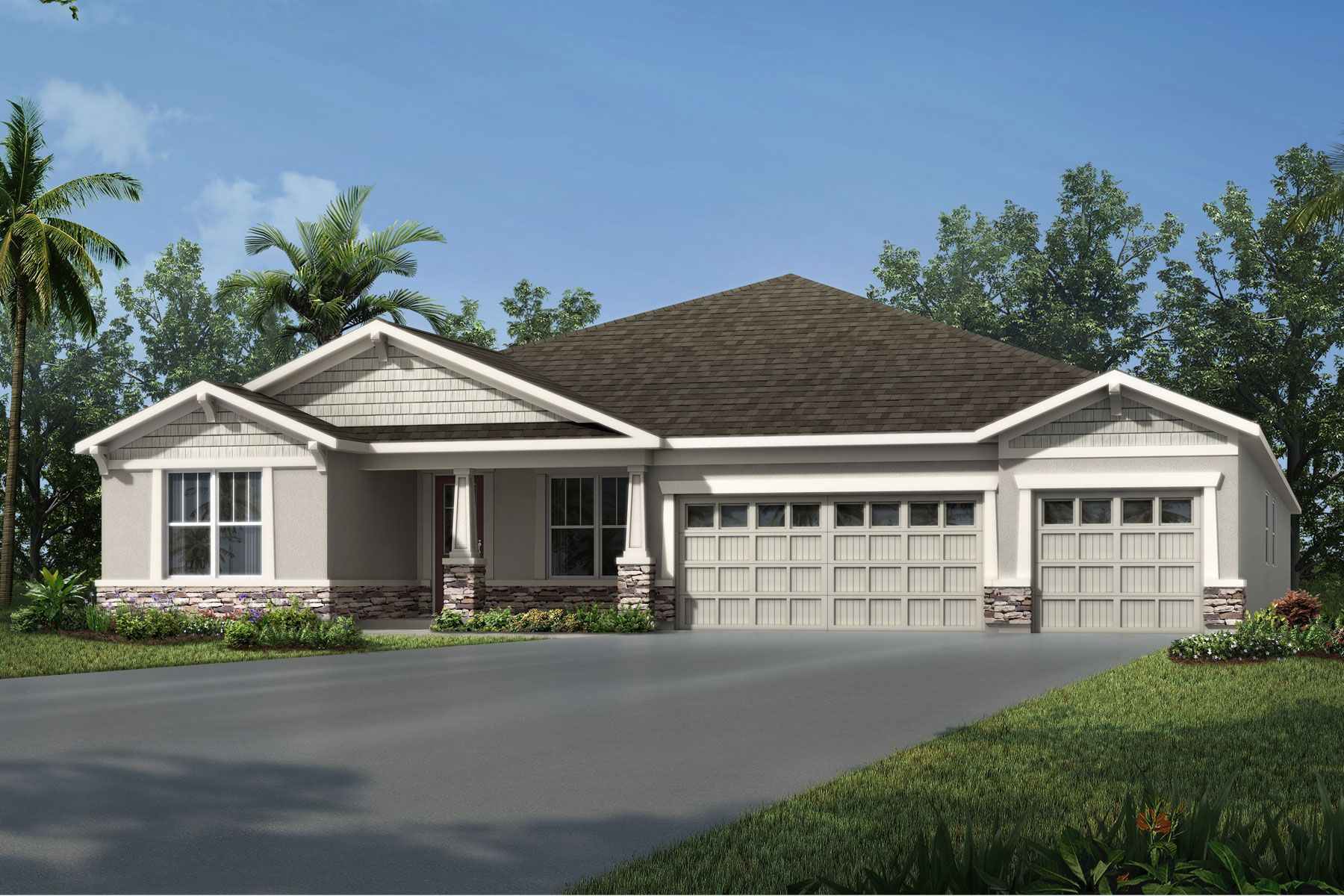 Exterior featured in the Juniper By Mattamy Homes in Orlando, FL