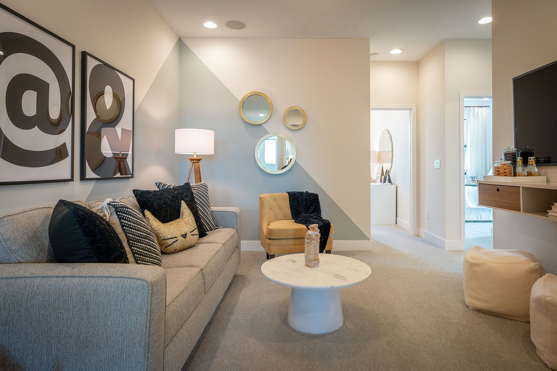 Living Area featured in the Ellery By Mattamy Homes in Palm Beach County, FL