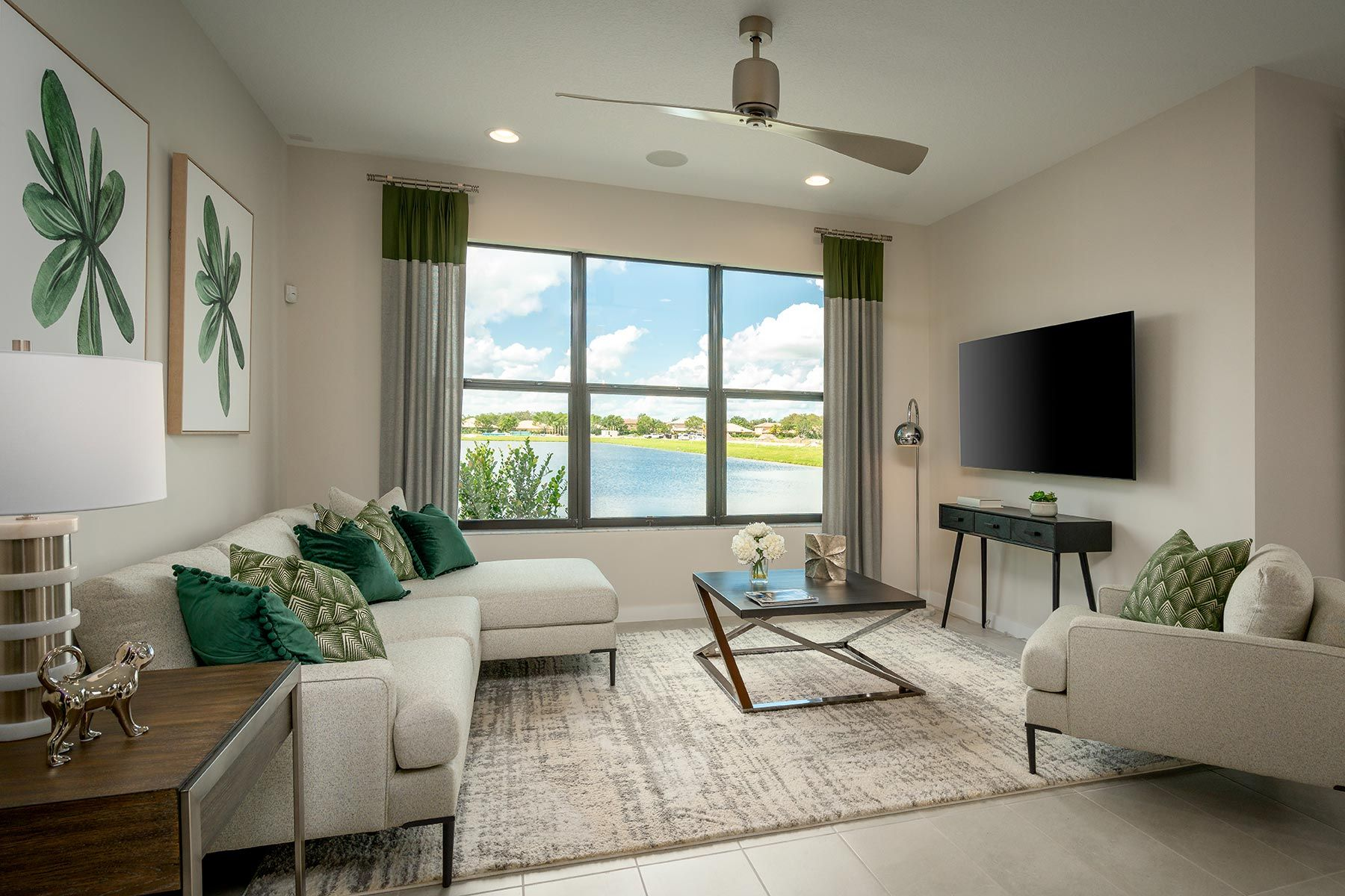 Living Area featured in the Dakota By Mattamy Homes in Palm Beach County, FL