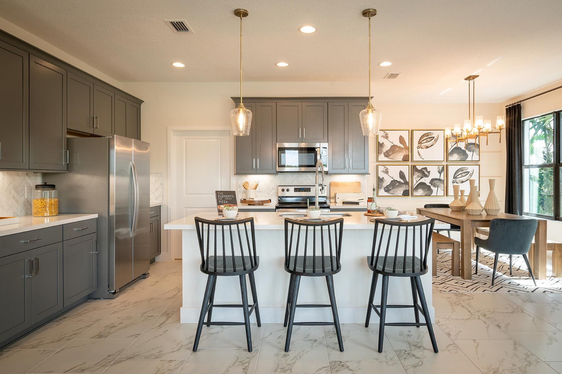 Kitchen featured in the Ellery By Mattamy Homes in Palm Beach County, FL