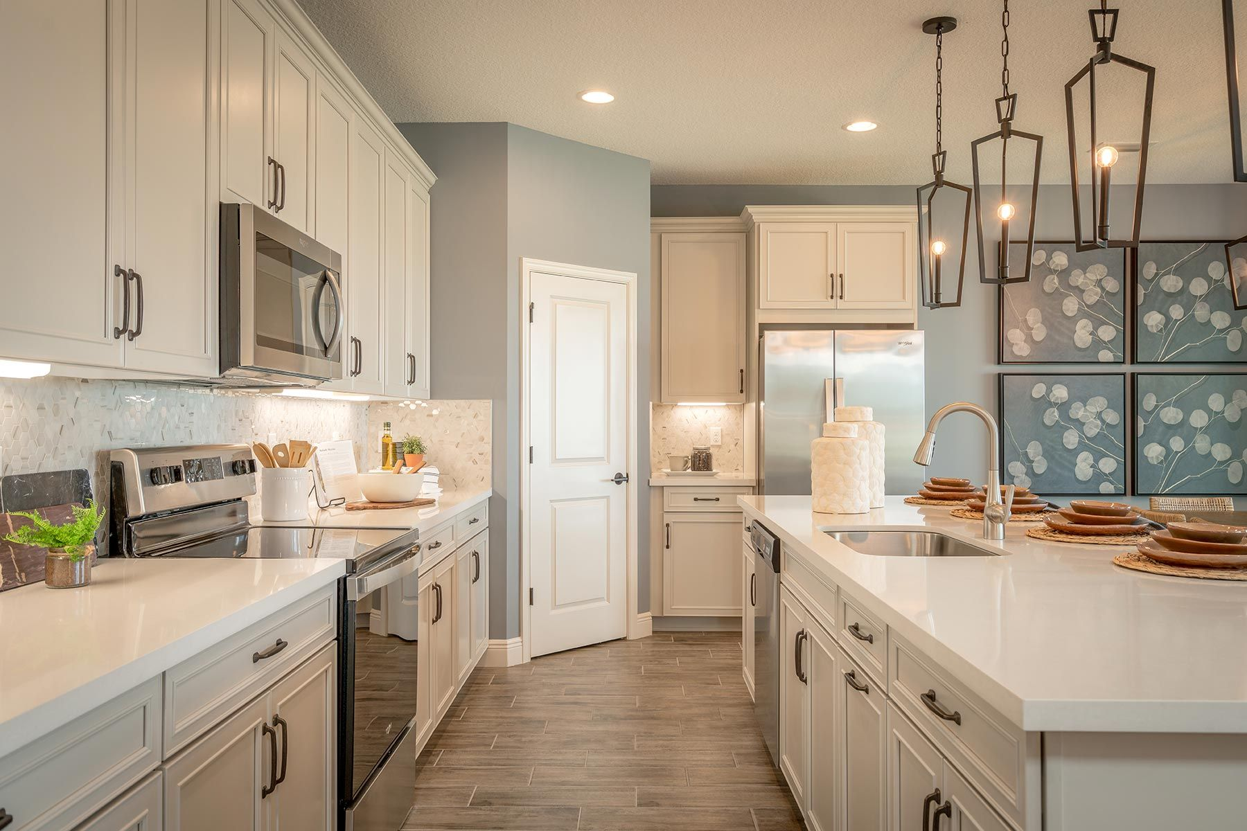 Kitchen featured in the Oakley By Mattamy Homes in Palm Beach County, FL