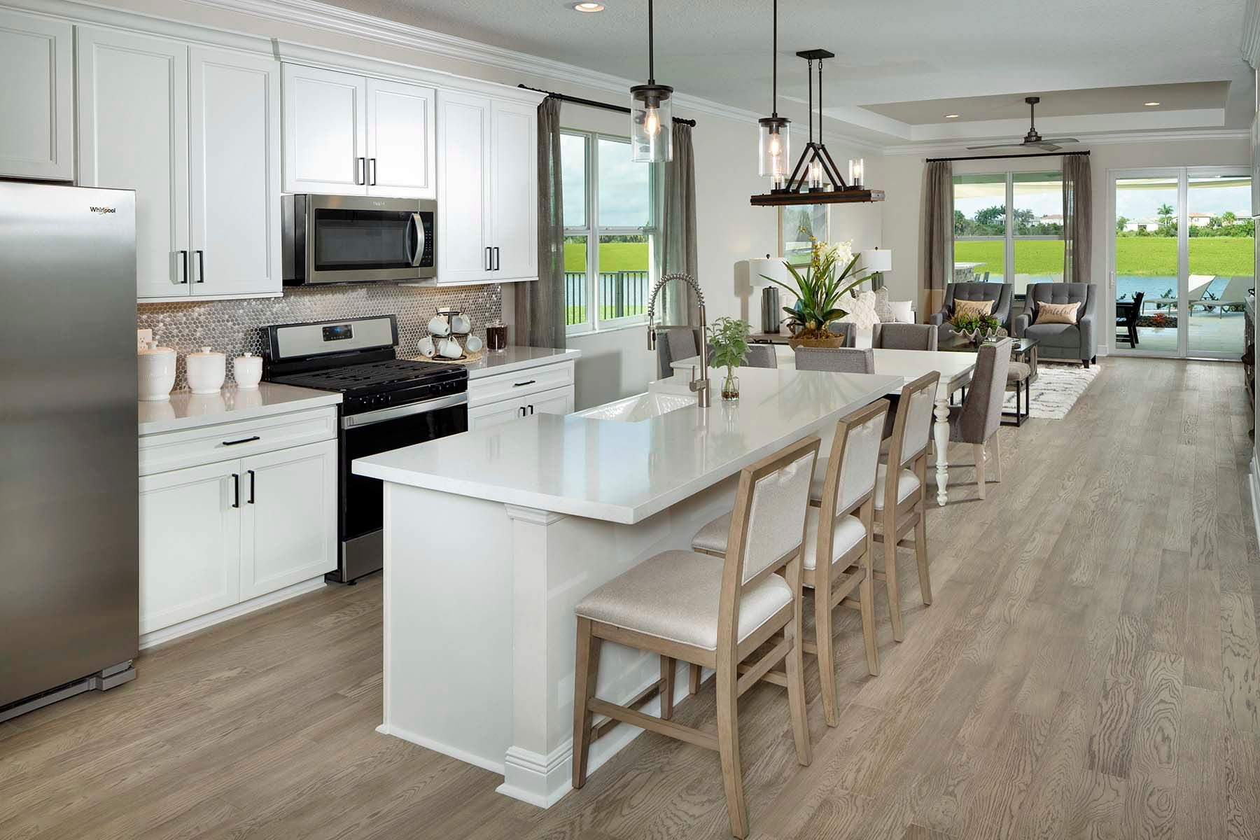 Kitchen featured in the Briar By Mattamy Homes in Martin-St. Lucie-Okeechobee Counties, FL
