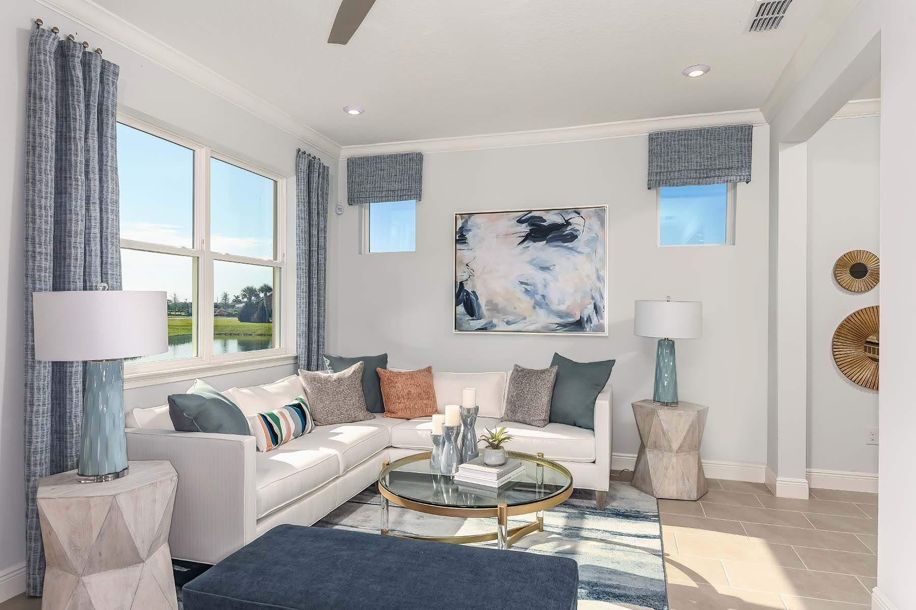 Living Area featured in the Seaside II End By Mattamy Homes in Sarasota-Bradenton, FL