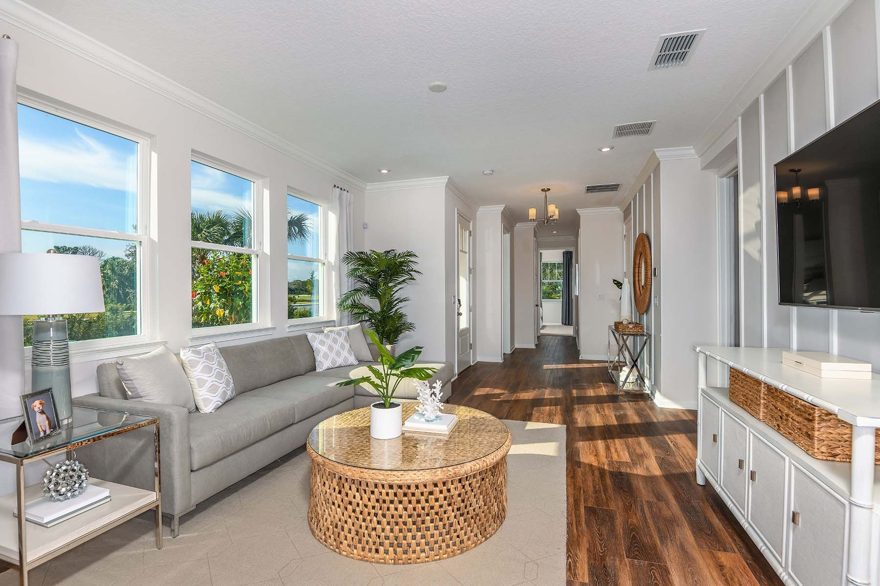 Living Area featured in the Driftwood II End By Mattamy Homes in Sarasota-Bradenton, FL