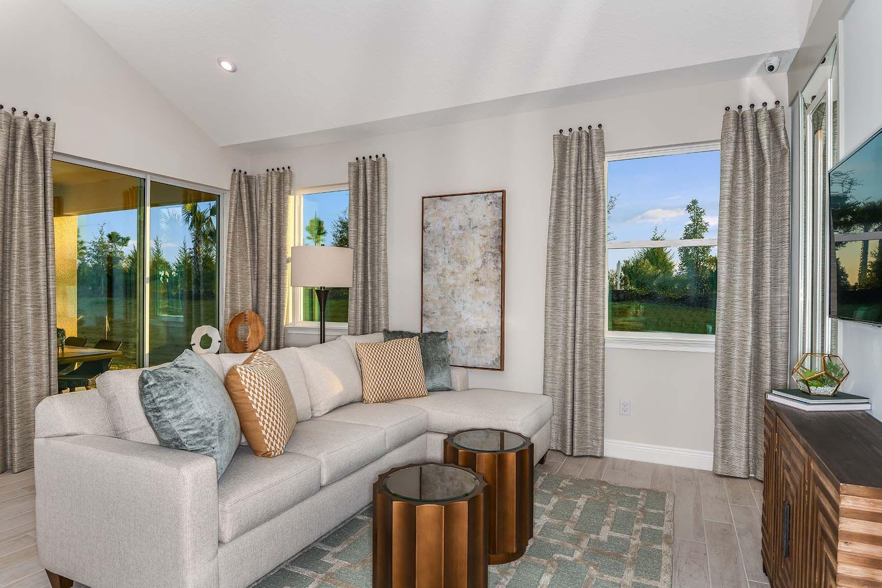 Living Area featured in the Sandbar By Mattamy Homes in Sarasota-Bradenton, FL