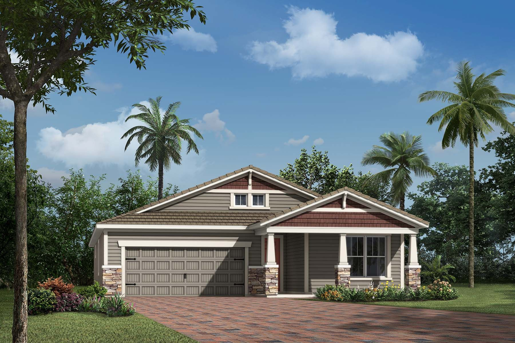 Exterior featured in the Aurora By Mattamy Homes in Sarasota-Bradenton, FL
