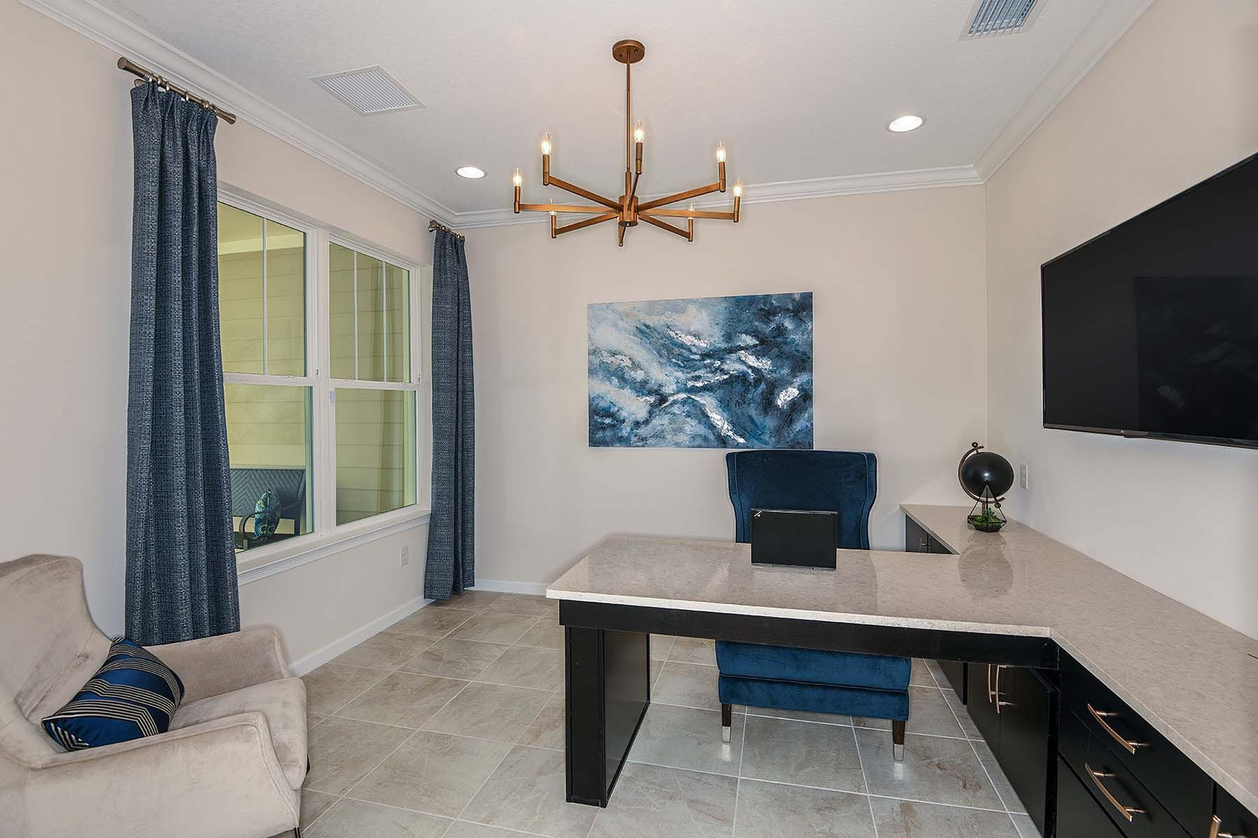 Living Area featured in the Bayport By Mattamy Homes in Sarasota-Bradenton, FL