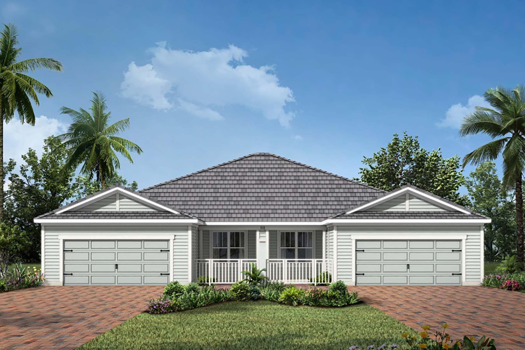 Exterior featured in the Bayport By Mattamy Homes in Sarasota-Bradenton, FL