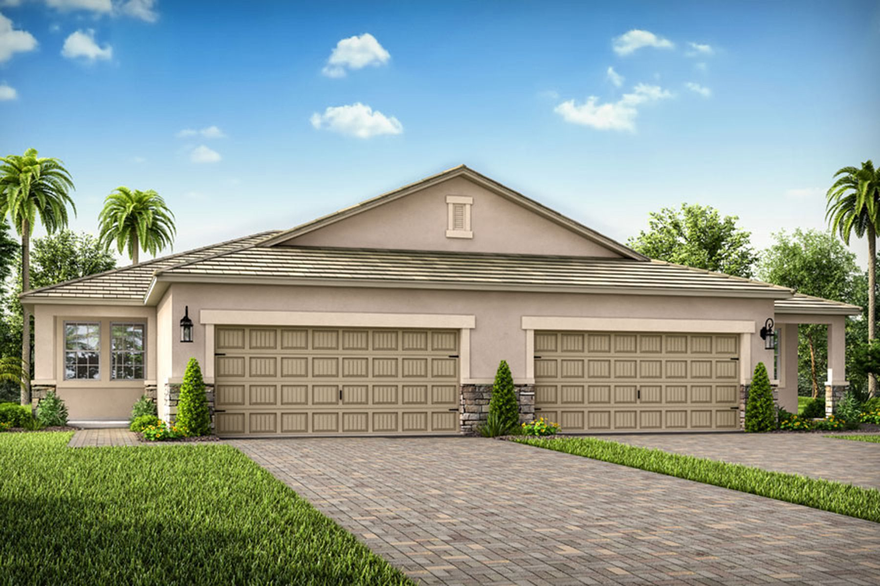 Exterior featured in the Largo By Mattamy Homes in Sarasota-Bradenton, FL