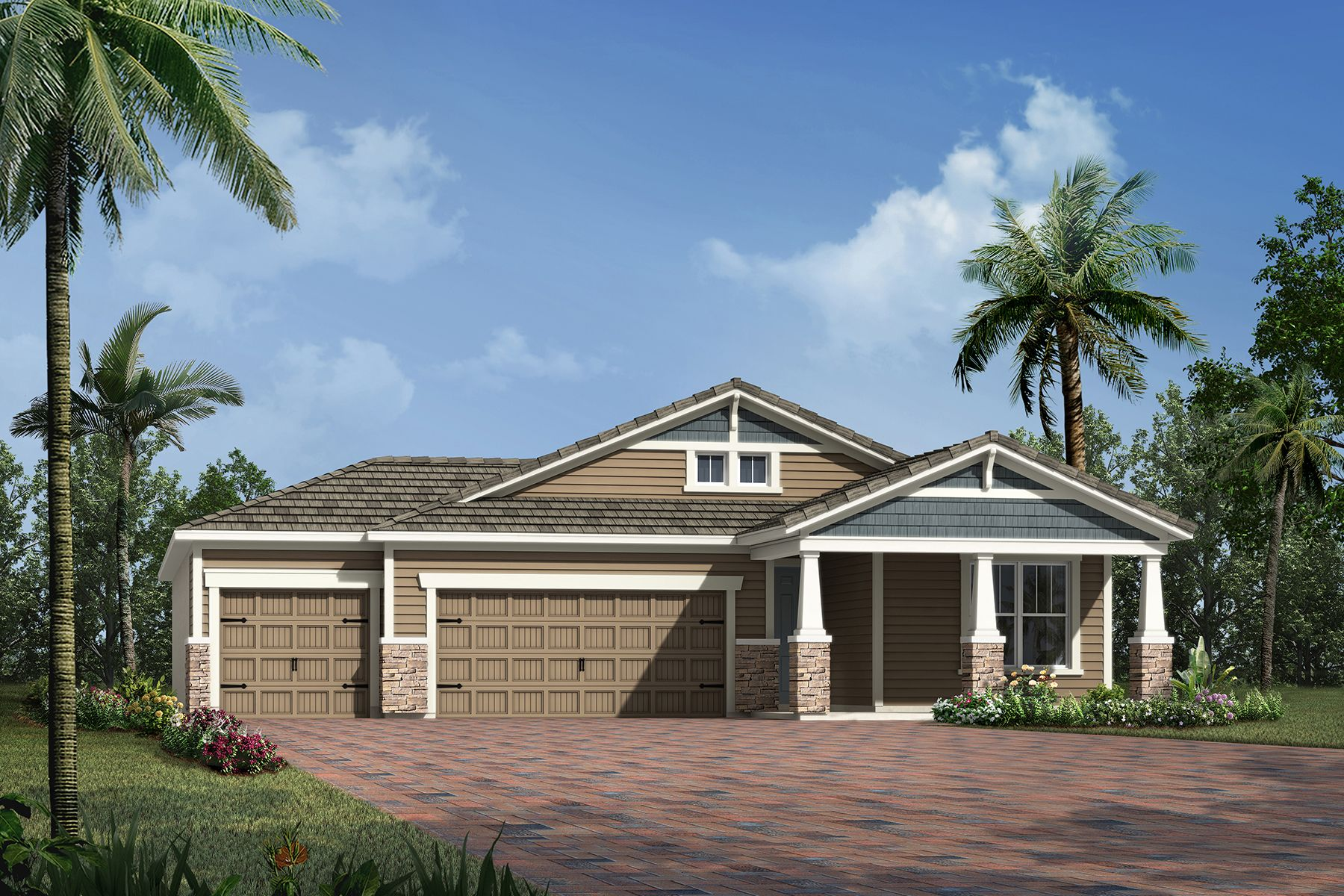 Exterior featured in the Morningside By Mattamy Homes in Sarasota-Bradenton, FL