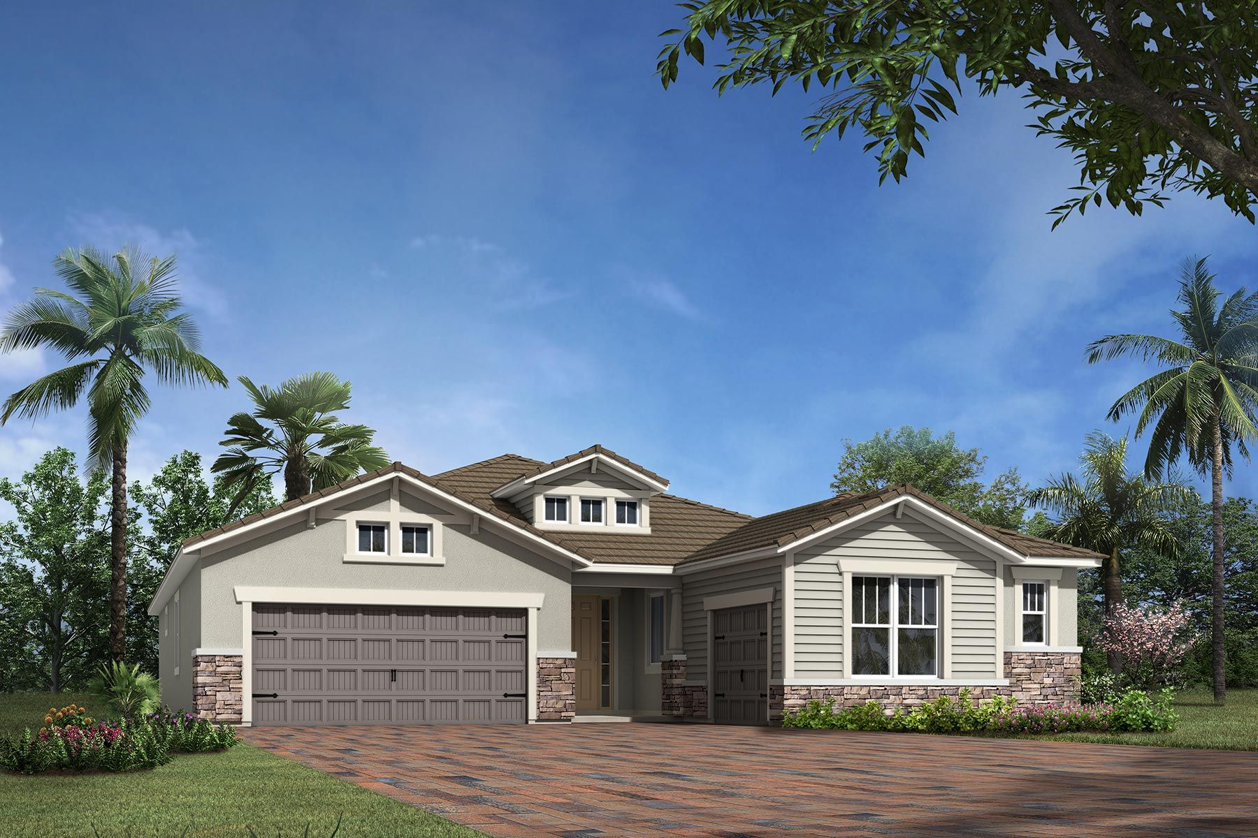 Exterior featured in the Serenity By Mattamy Homes in Sarasota-Bradenton, FL