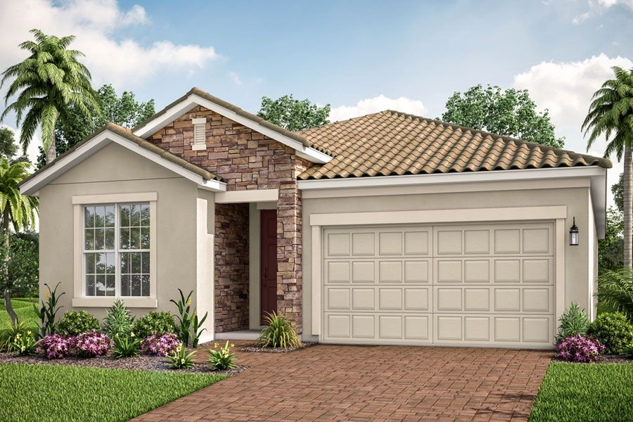 Exterior featured in the Antigua II By Mattamy Homes in Sarasota-Bradenton, FL