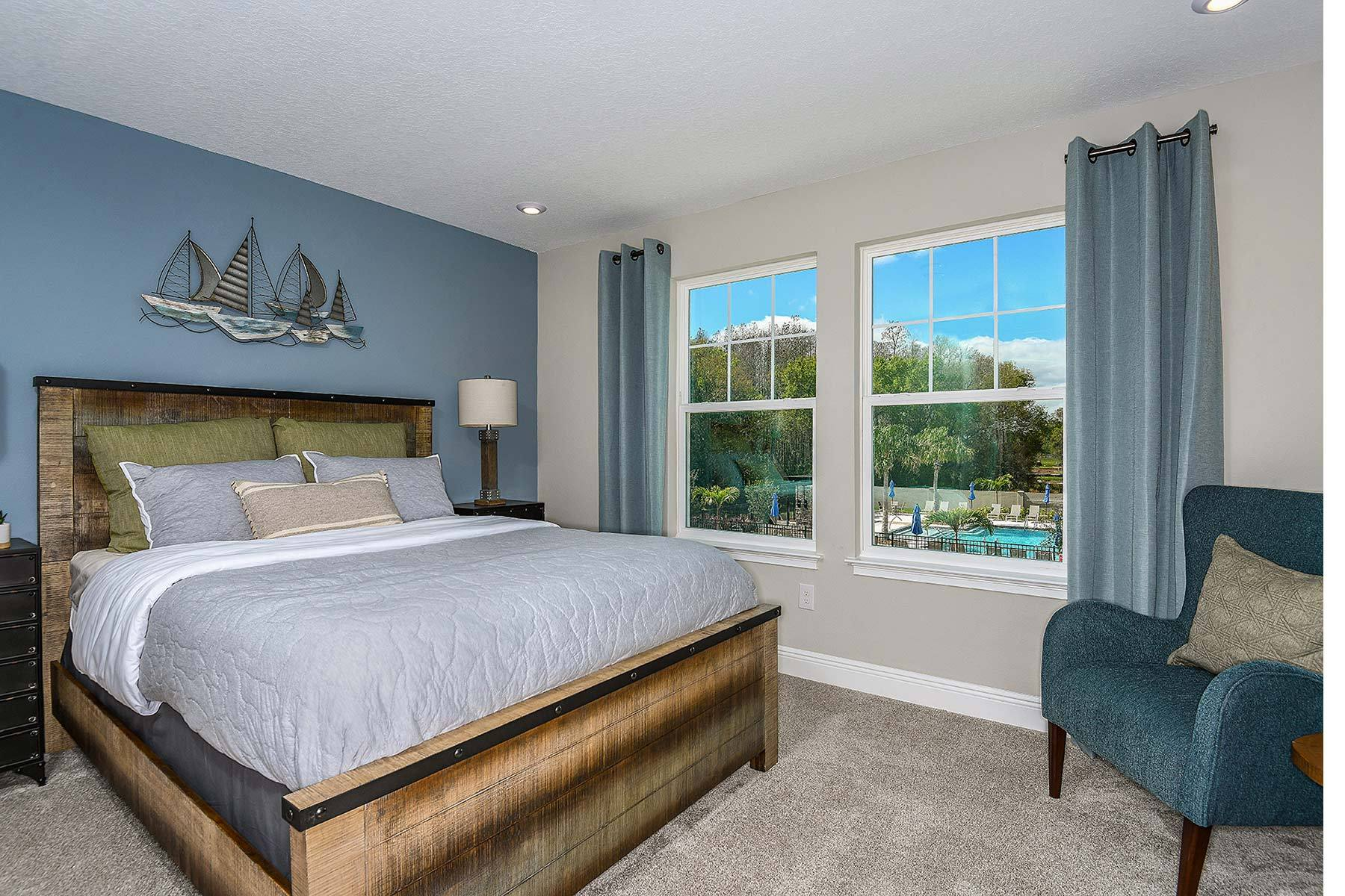 Bedroom featured in the Ormond By Mattamy Homes in Tampa-St. Petersburg, FL
