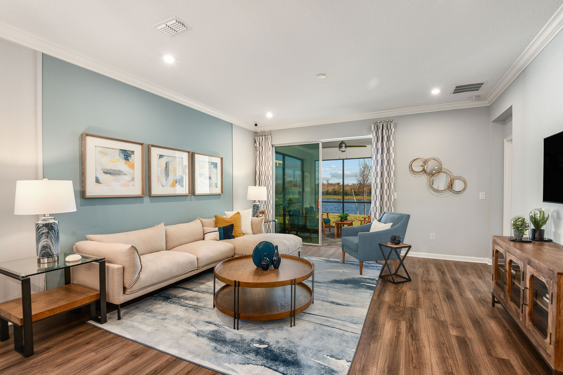 Living Area featured in the Amelia II By Mattamy Homes in Tampa-St. Petersburg, FL