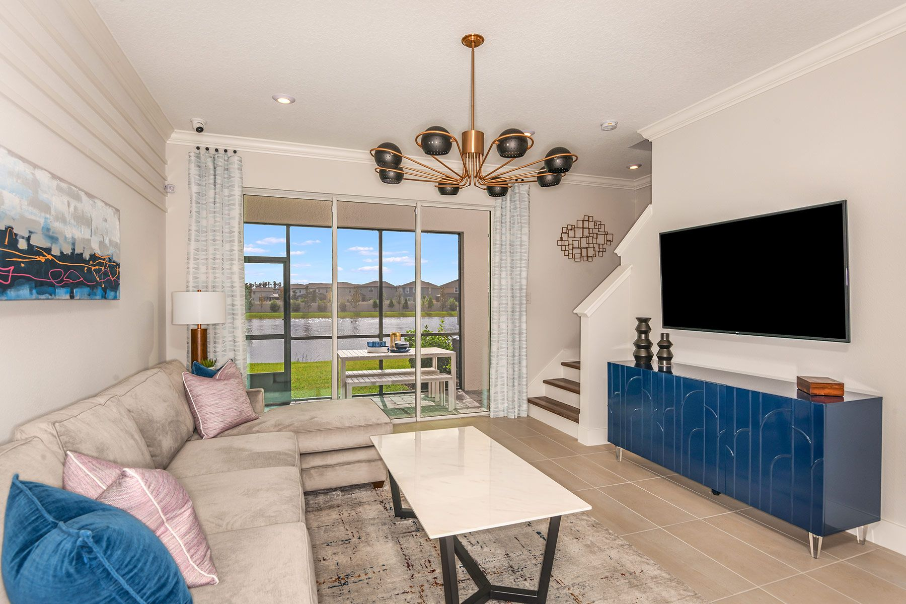 Living Area featured in the Marianna By Mattamy Homes in Tampa-St. Petersburg, FL