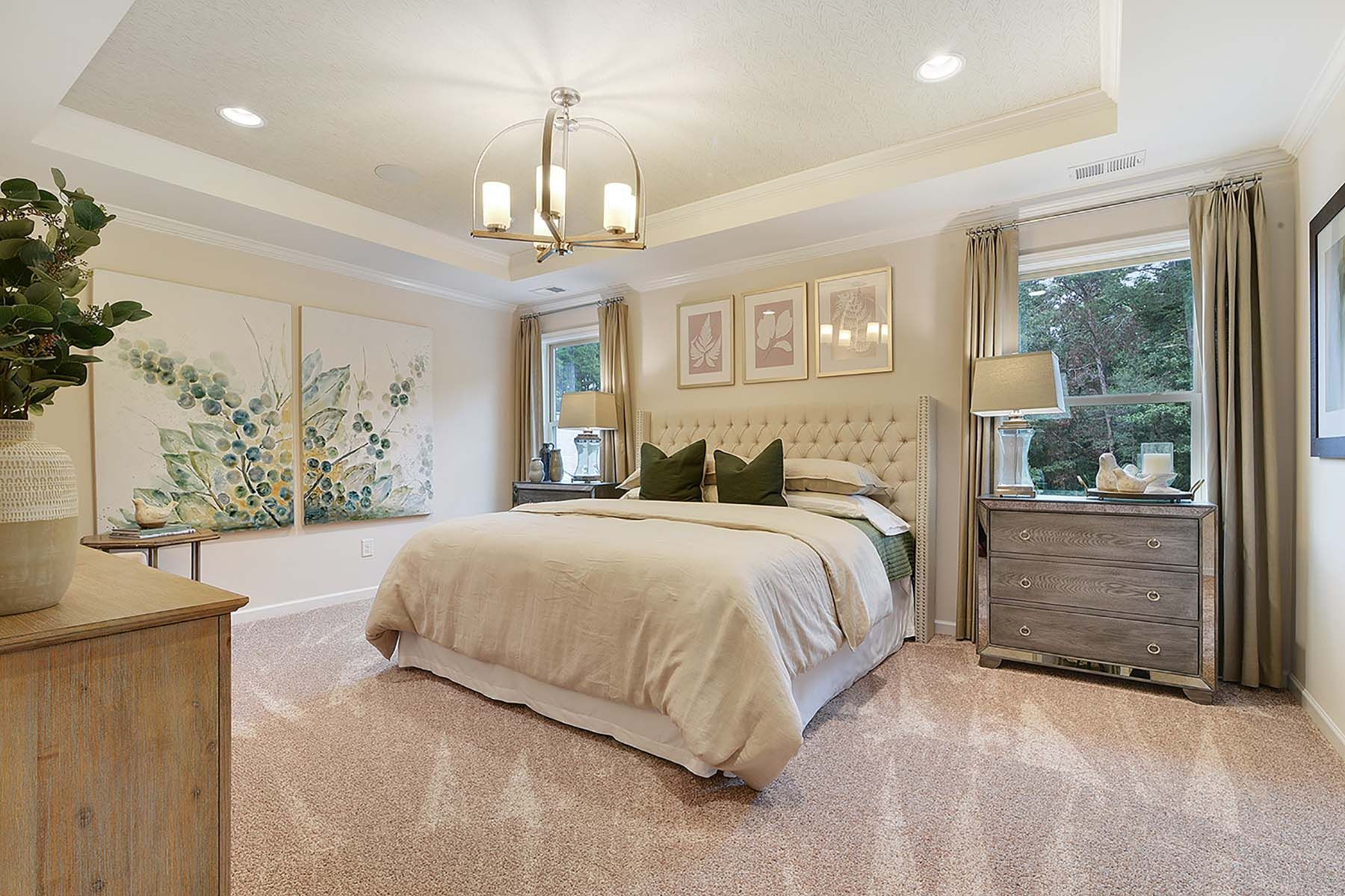 Bedroom featured in the Gaines By Mattamy Homes in Charlotte, NC