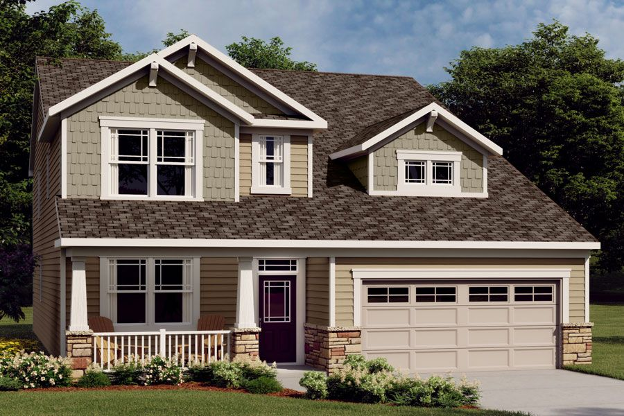 Exterior featured in the Nolan By Mattamy Homes in Charlotte, NC