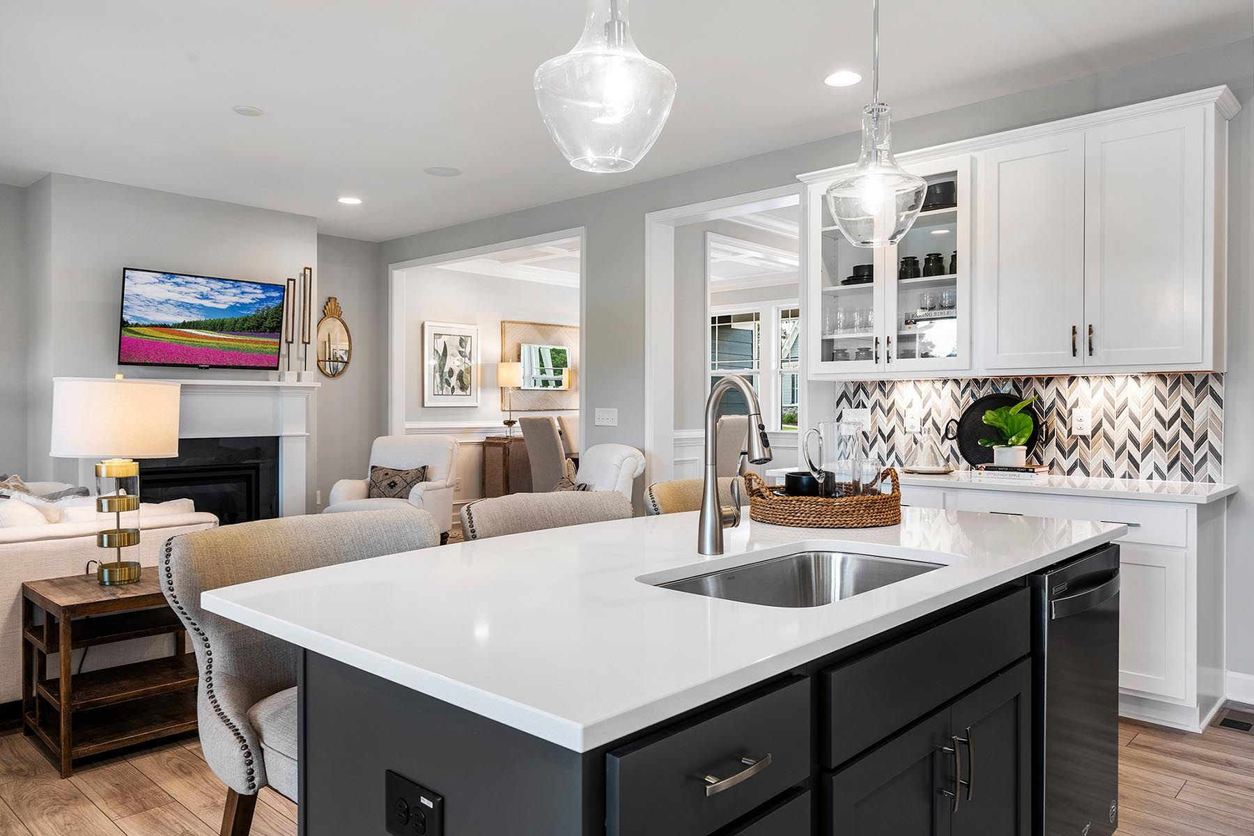 Kitchen featured in the Larkin By Mattamy Homes in Raleigh-Durham-Chapel Hill, NC