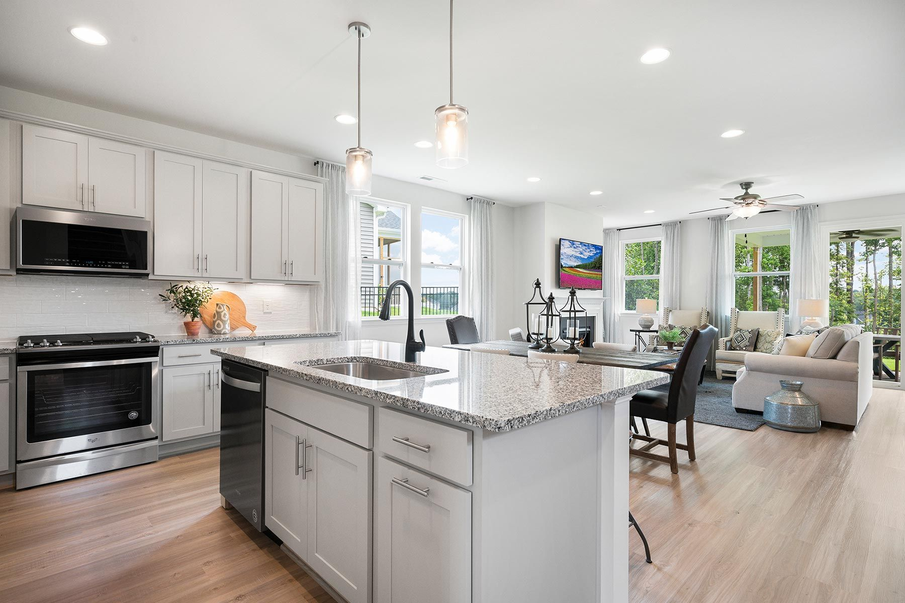 Kitchen featured in the Amelia By Mattamy Homes in Raleigh-Durham-Chapel Hill, NC