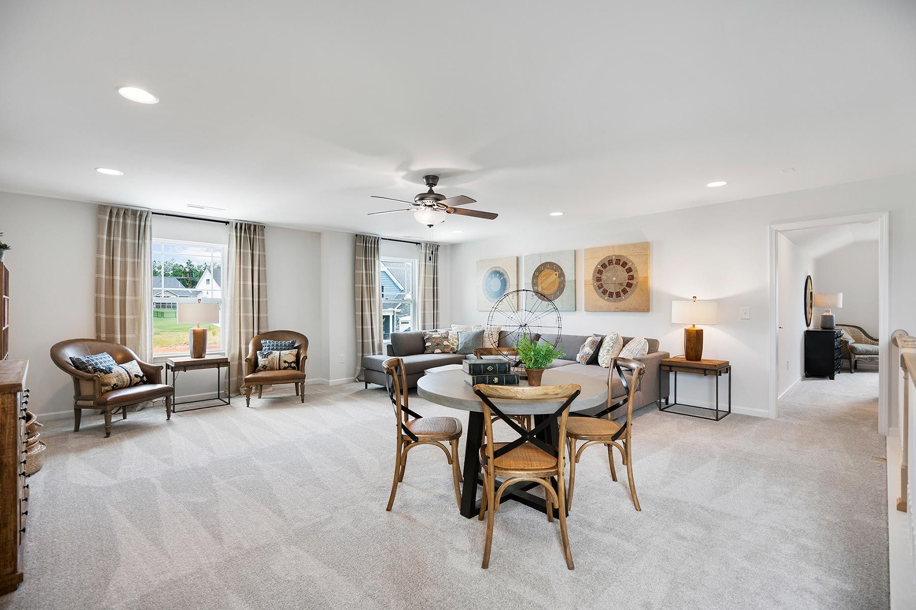 Living Area featured in the Amelia By Mattamy Homes in Raleigh-Durham-Chapel Hill, NC