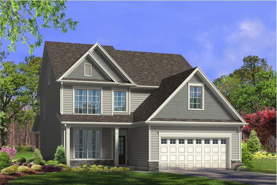 Exterior featured in the Carteret By Mattamy Homes in Raleigh-Durham-Chapel Hill, NC