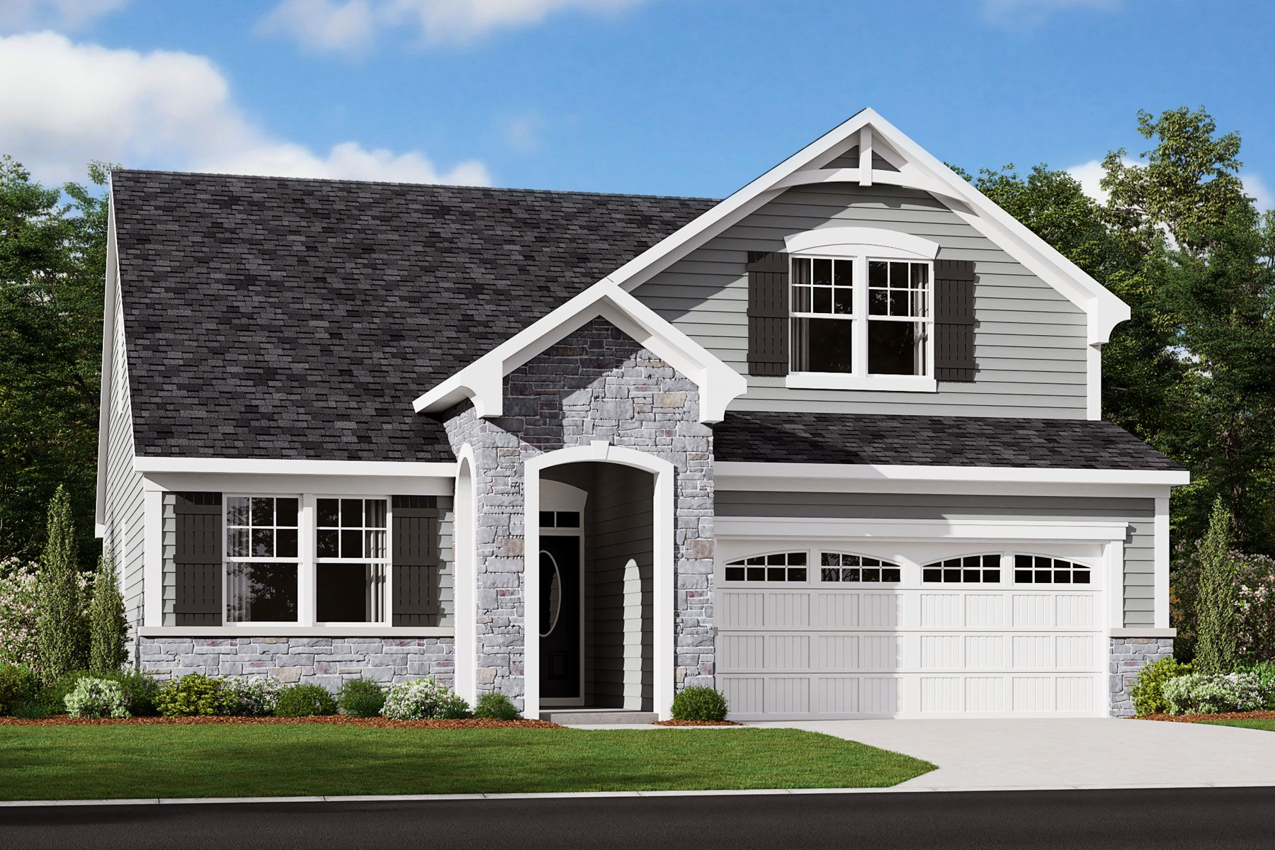 Exterior featured in the Chadwick By Mattamy Homes in Raleigh-Durham-Chapel Hill, NC