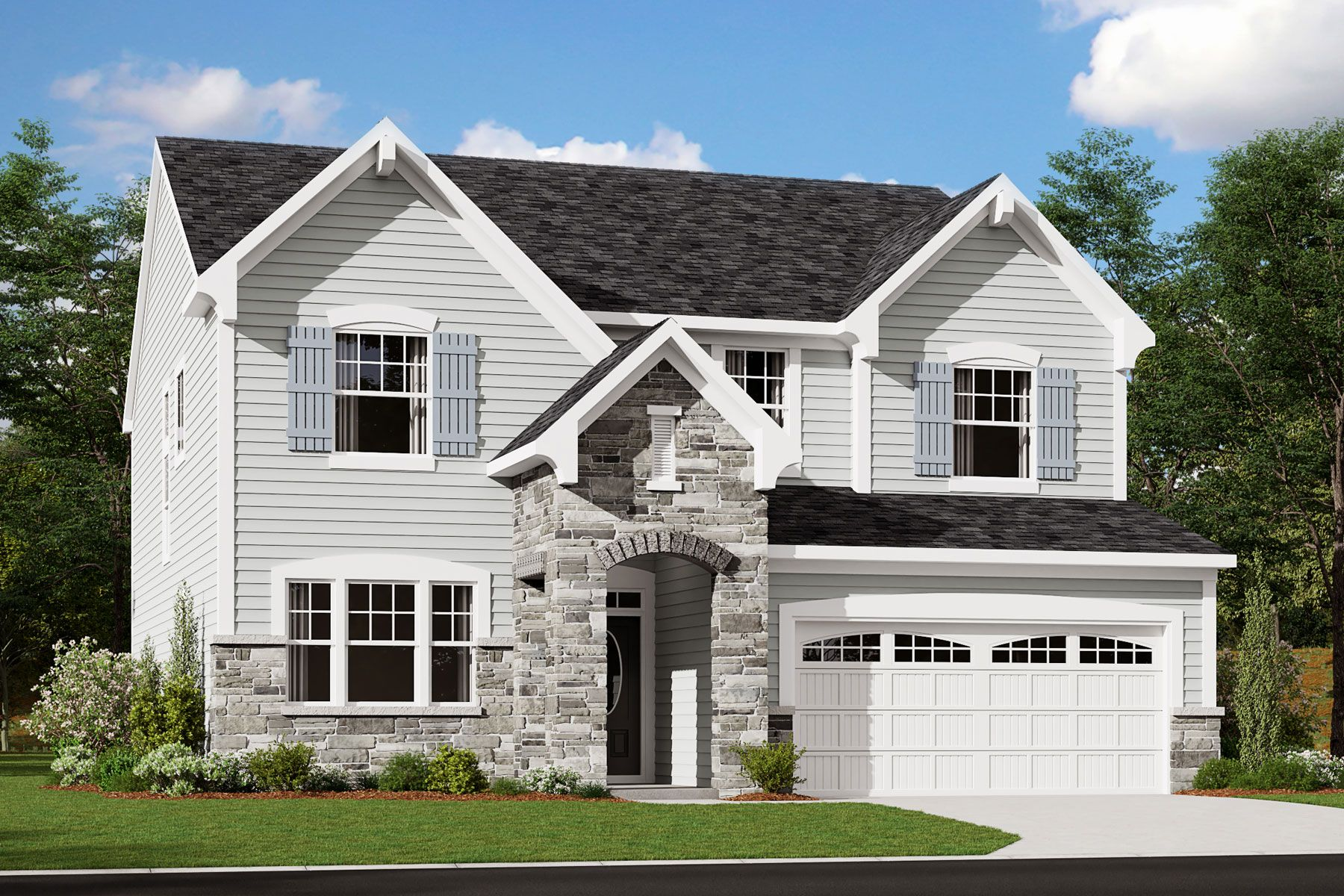 Exterior featured in the Quinton By Mattamy Homes in Raleigh-Durham-Chapel Hill, NC