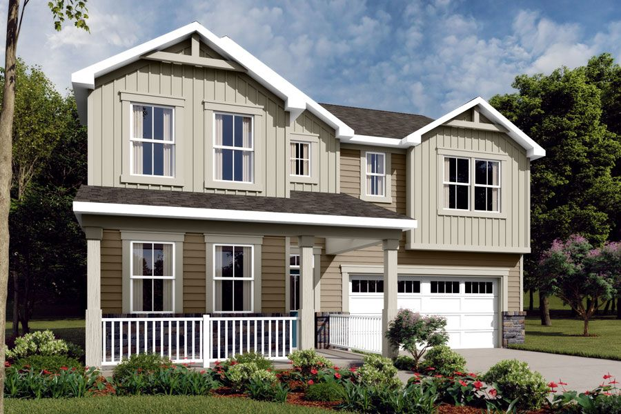 Exterior featured in the Gaines By Mattamy Homes in Raleigh-Durham-Chapel Hill, NC