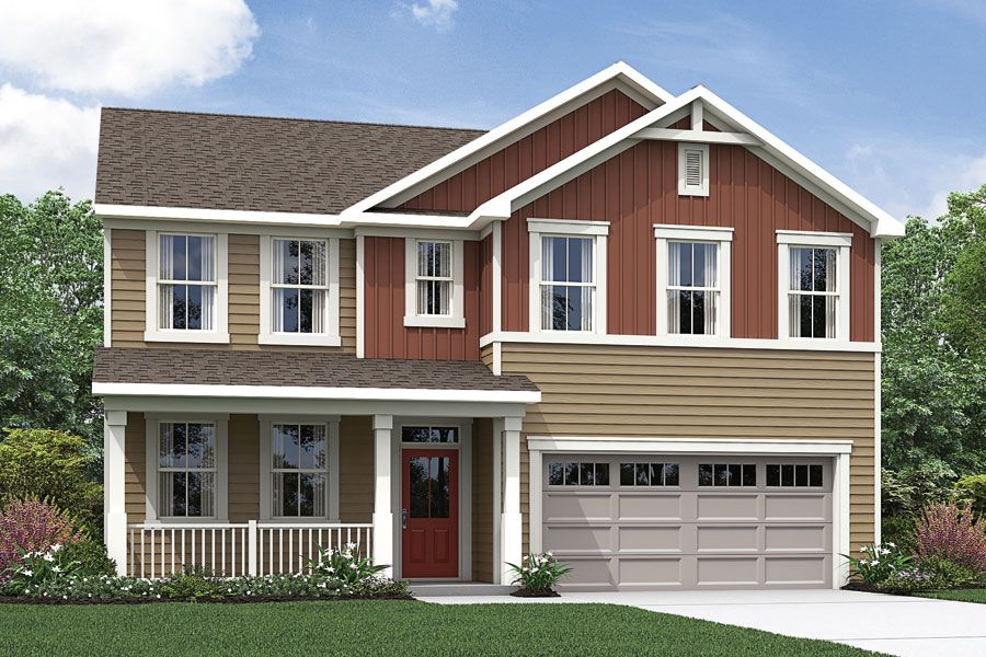 Exterior featured in the Mason By Mattamy Homes in Raleigh-Durham-Chapel Hill, NC