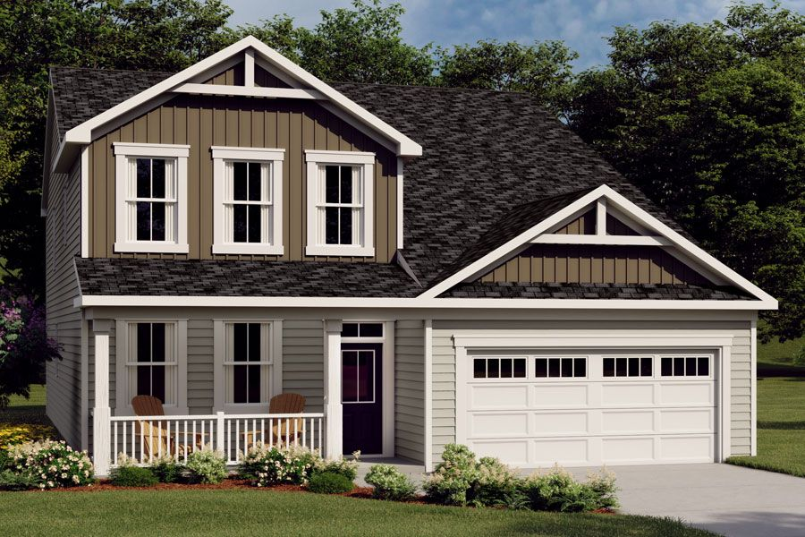Exterior featured in the Nolan By Mattamy Homes in Raleigh-Durham-Chapel Hill, NC