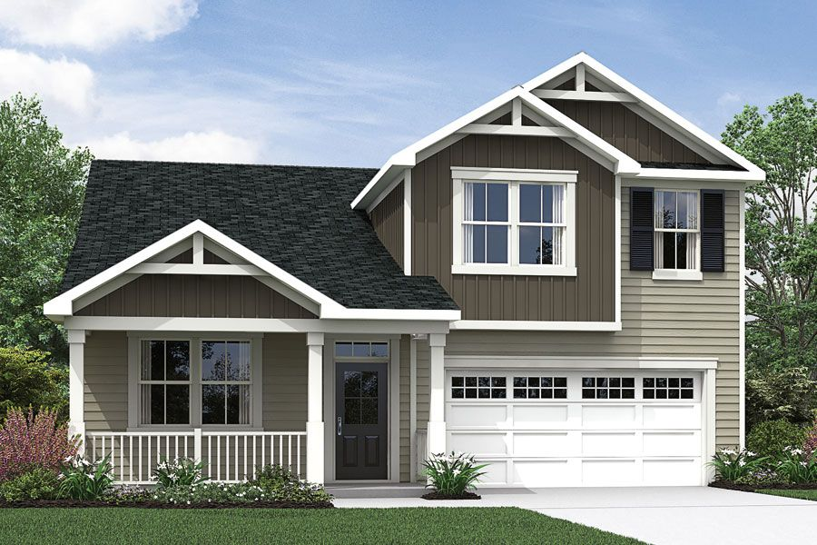 Exterior featured in the Amelia By Mattamy Homes in Raleigh-Durham-Chapel Hill, NC