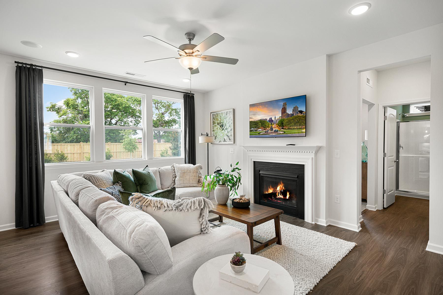 Living Area featured in the Gaines By Mattamy Homes in Raleigh-Durham-Chapel Hill, NC