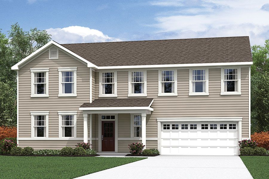 Exterior featured in the Kendall By Mattamy Homes in Raleigh-Durham-Chapel Hill, NC