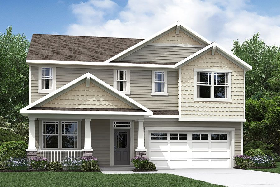 Exterior featured in the Logan By Mattamy Homes in Raleigh-Durham-Chapel Hill, NC