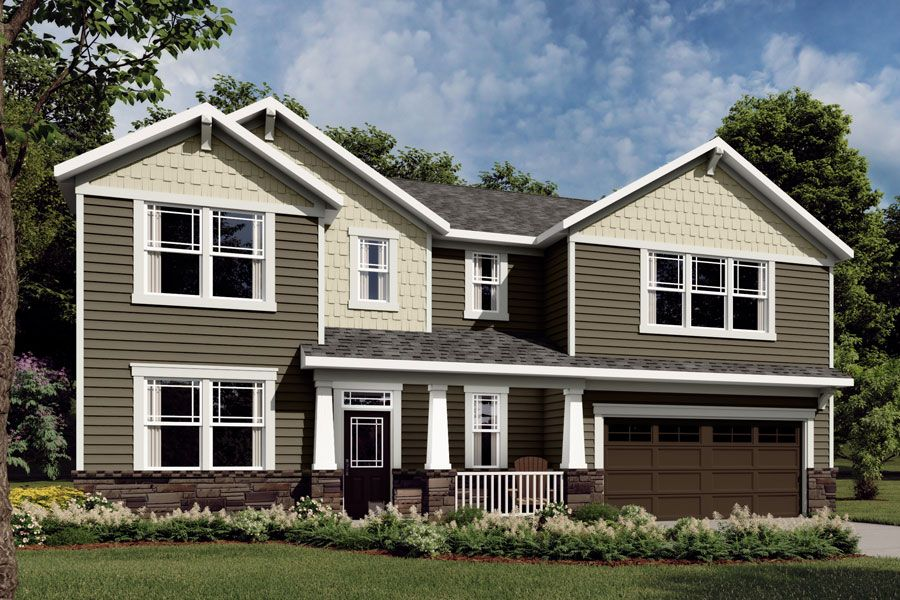 Exterior featured in the Marshall By Mattamy Homes in Raleigh-Durham-Chapel Hill, NC