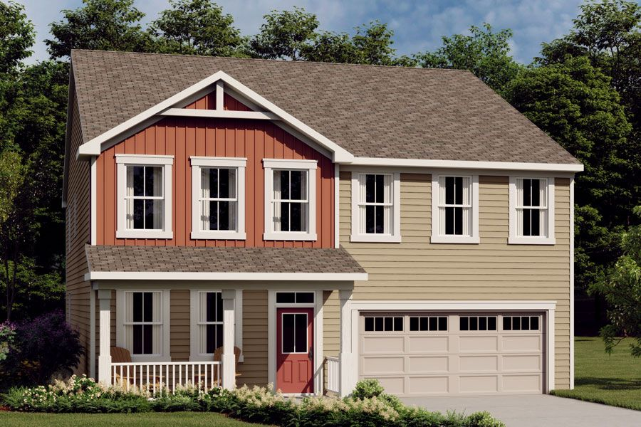 Exterior featured in the Crosby By Mattamy Homes in Raleigh-Durham-Chapel Hill, NC