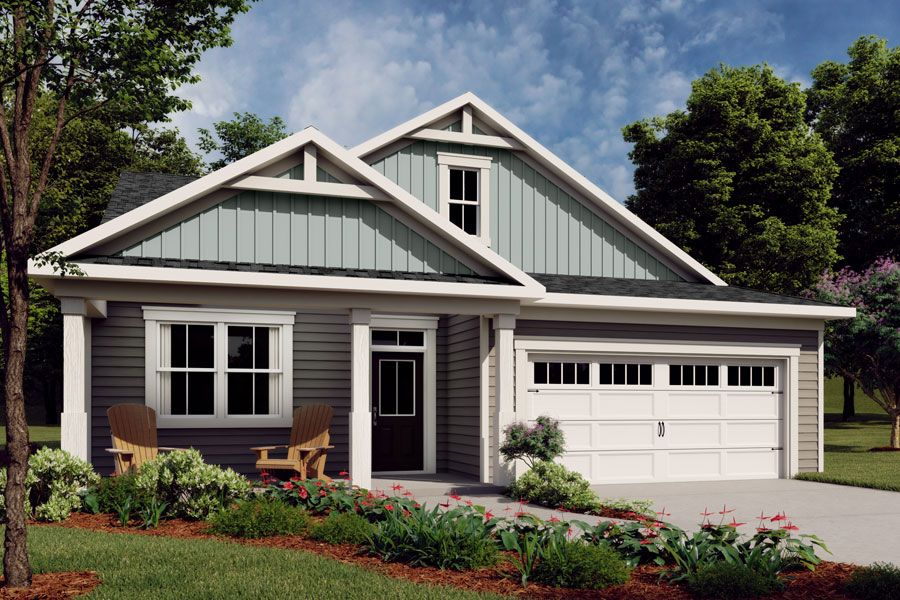 Exterior featured in the Evelyn By Mattamy Homes in Raleigh-Durham-Chapel Hill, NC