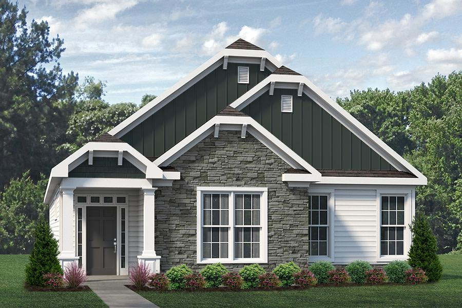 Exterior featured in the Tucker By Mattamy Homes in Raleigh-Durham-Chapel Hill, NC