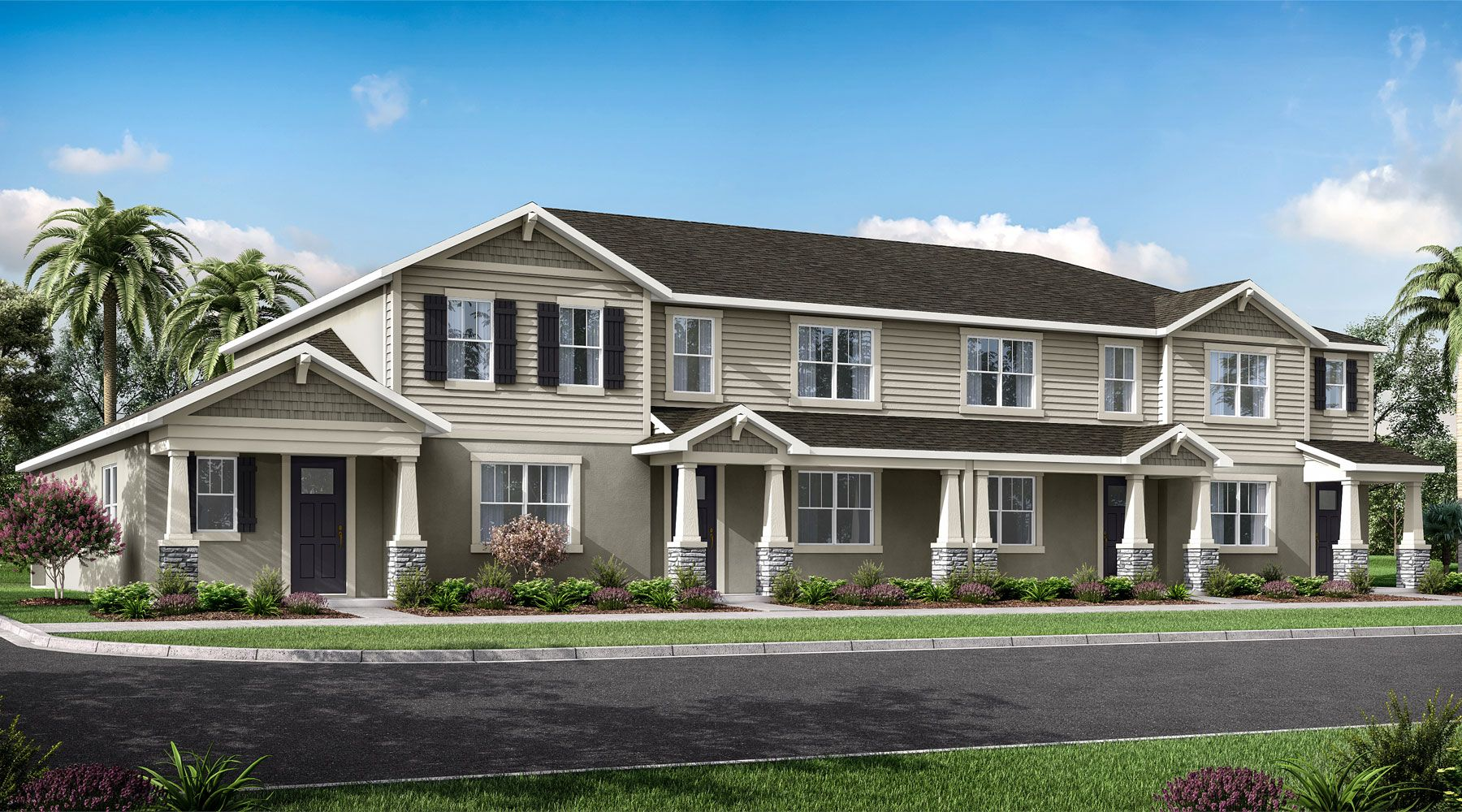 Exterior featured in the Sofia By Mattamy Homes in Orlando, FL