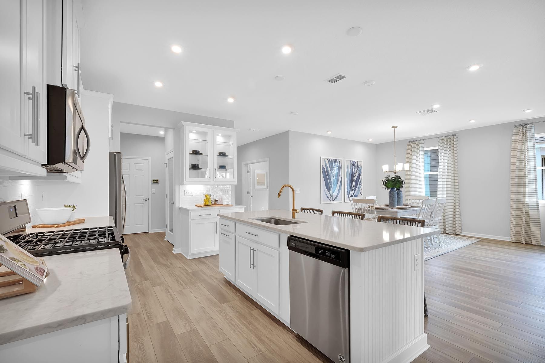 Kitchen featured in the Elm By Mattamy Homes in Jacksonville-St. Augustine, FL