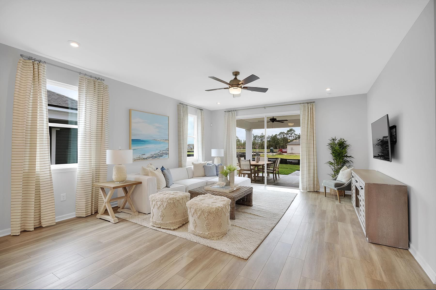 Living Area featured in the Elm By Mattamy Homes in Jacksonville-St. Augustine, FL