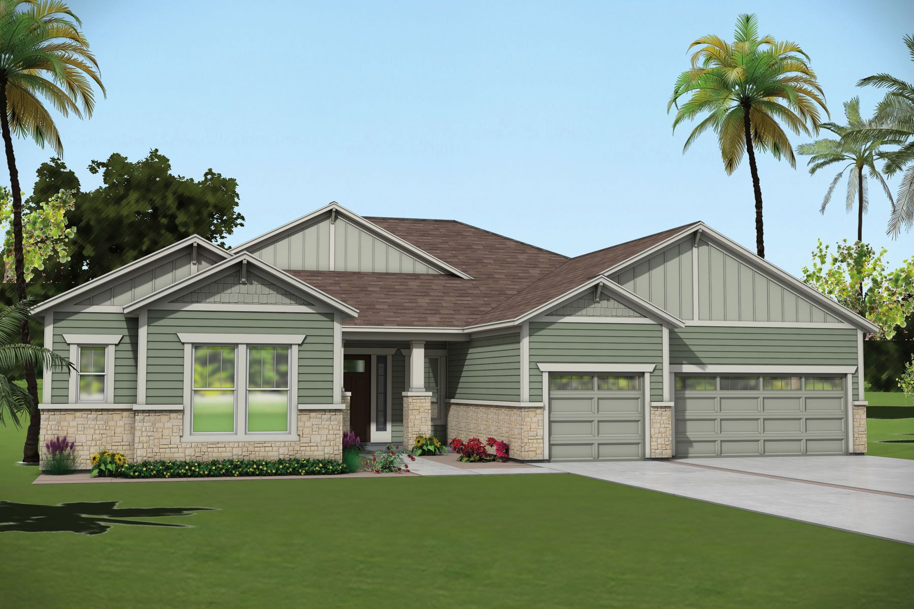 Exterior featured in the Iris By Mattamy Homes in Jacksonville-St. Augustine, FL