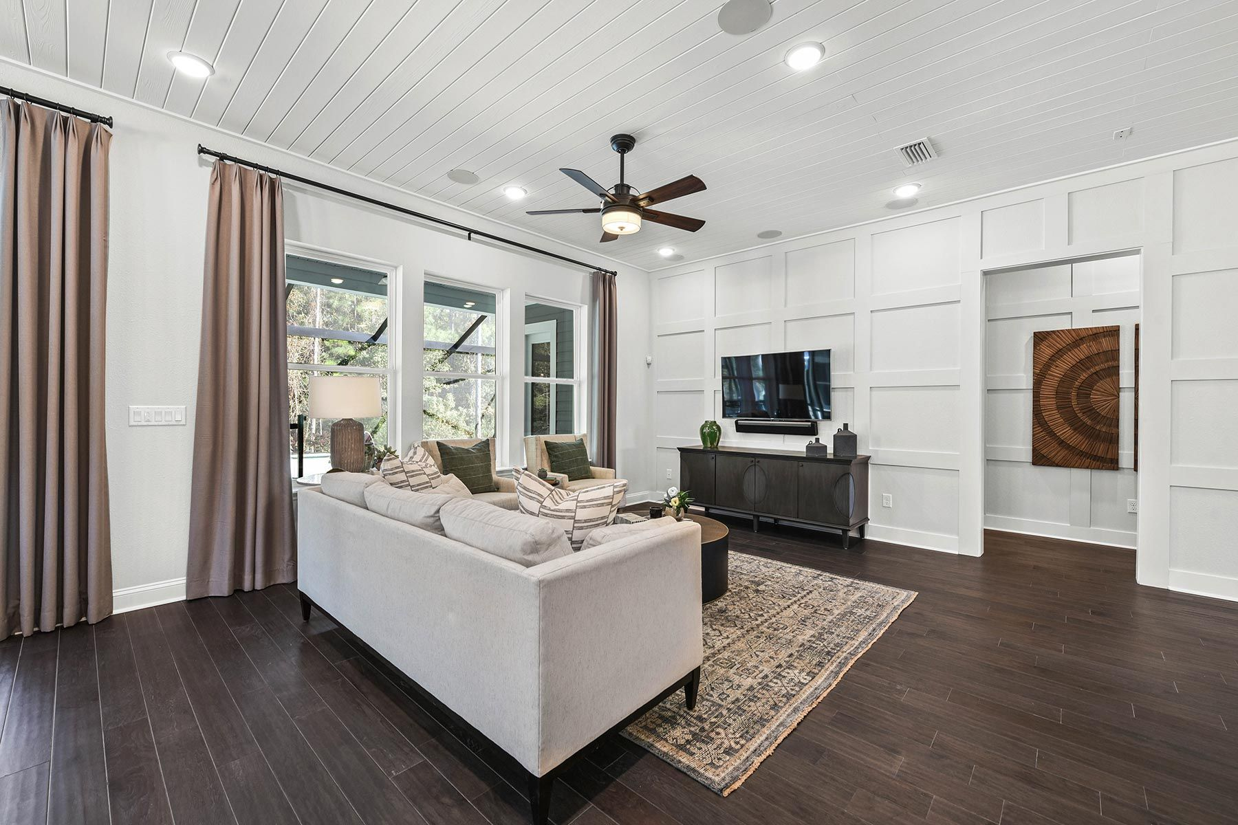 Living Area featured in the Bridge By Mattamy Homes in Jacksonville-St. Augustine, FL