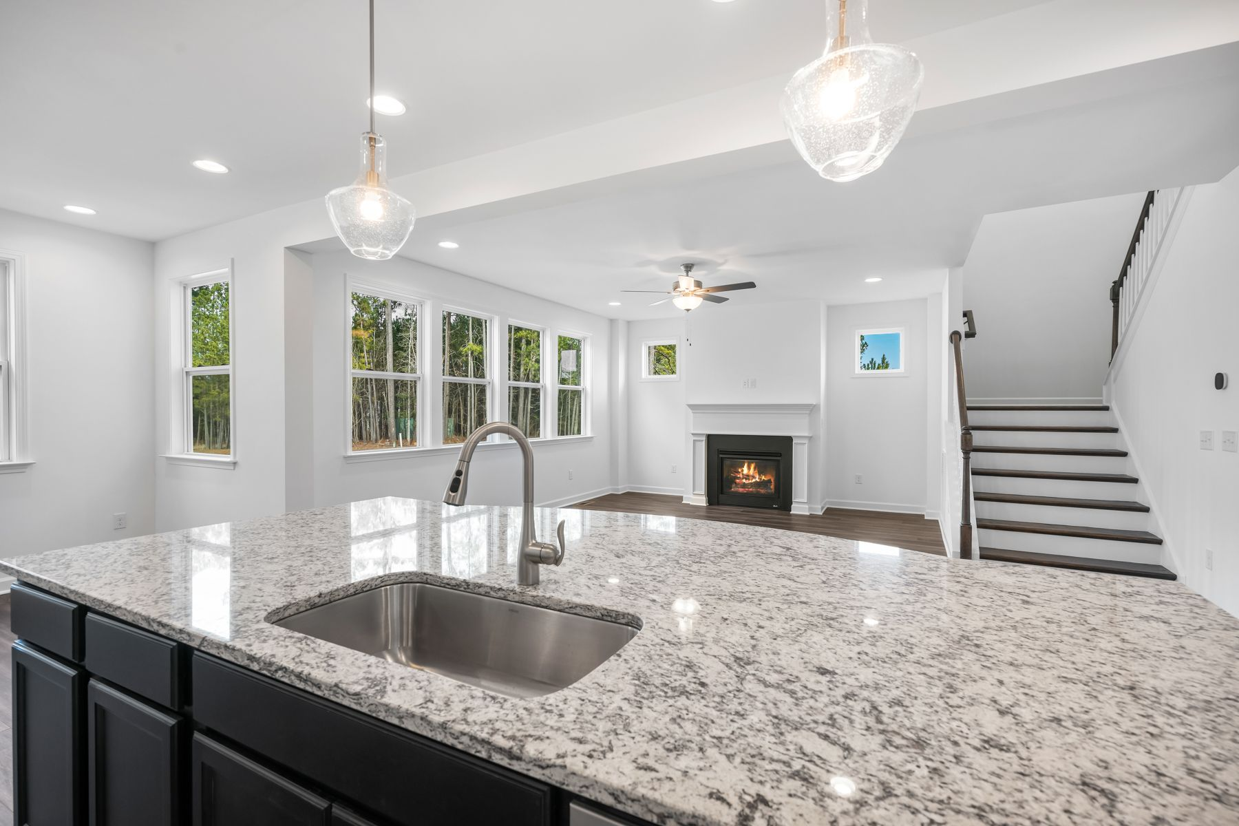 Kitchen featured in the Mitchell By Mattamy Homes in Raleigh-Durham-Chapel Hill, NC
