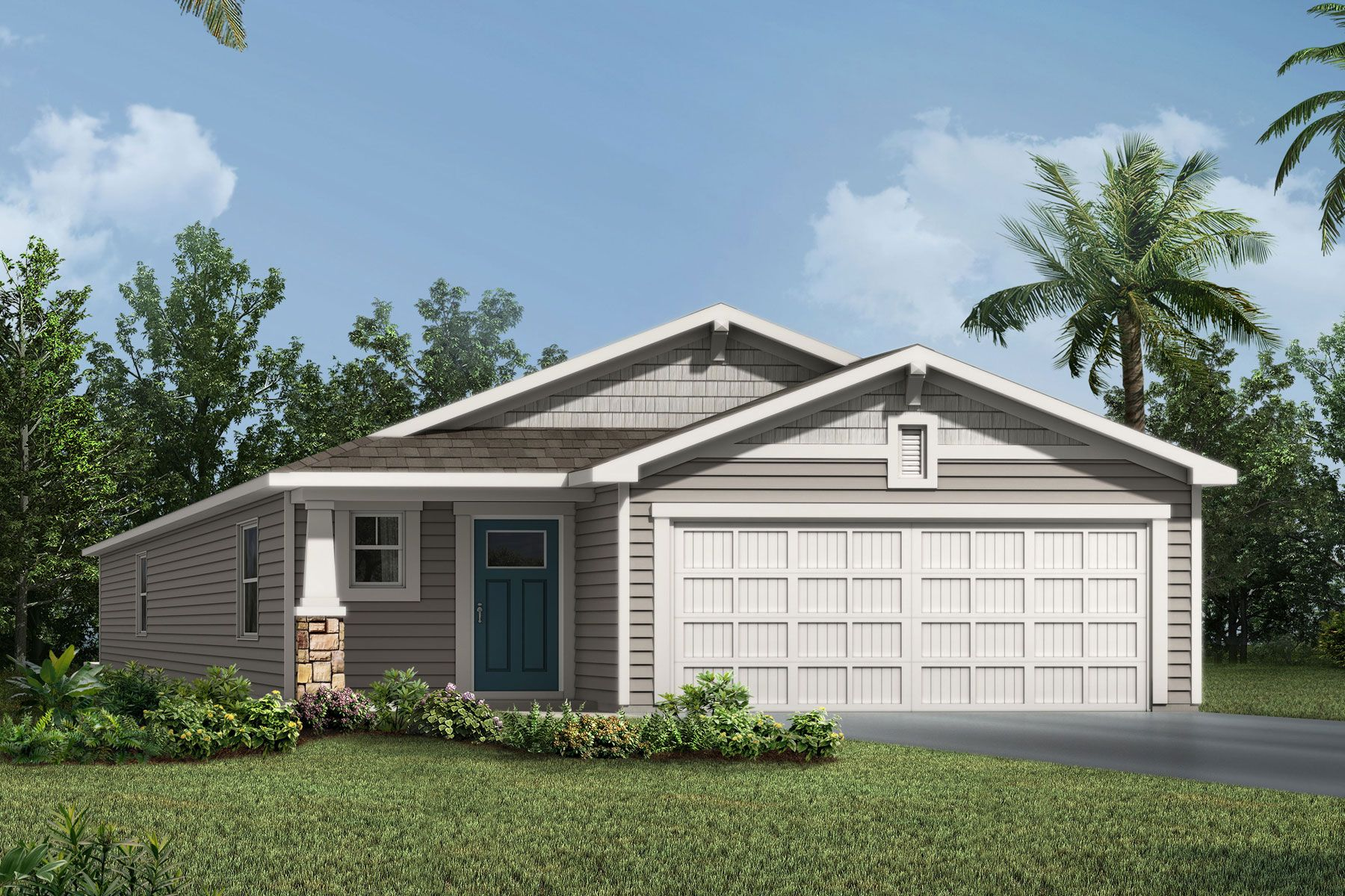 Exterior featured in the Carrabelle By Mattamy Homes in Jacksonville-St. Augustine, FL