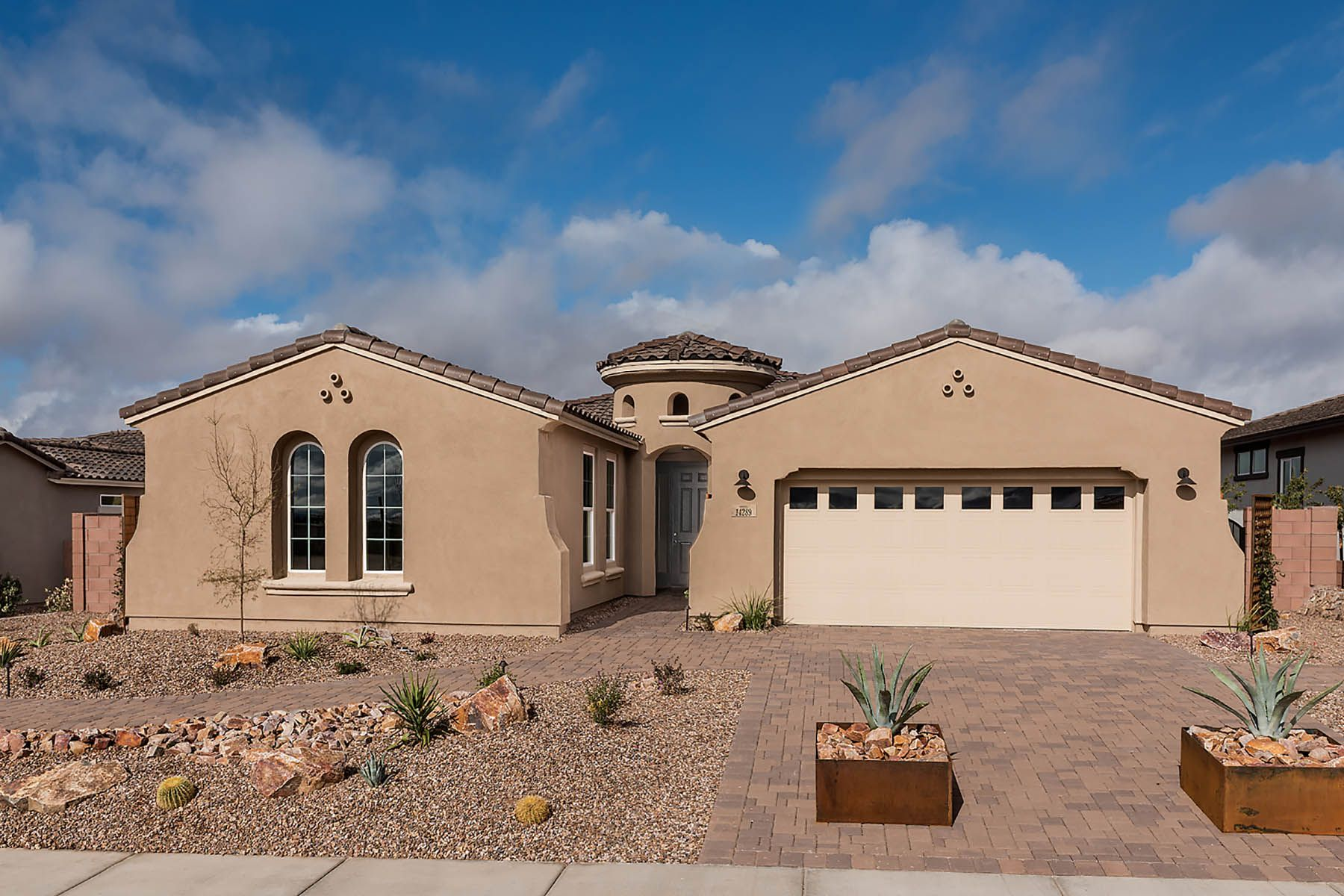 Exterior featured in the Panorama By Mattamy Homes in Tucson, AZ