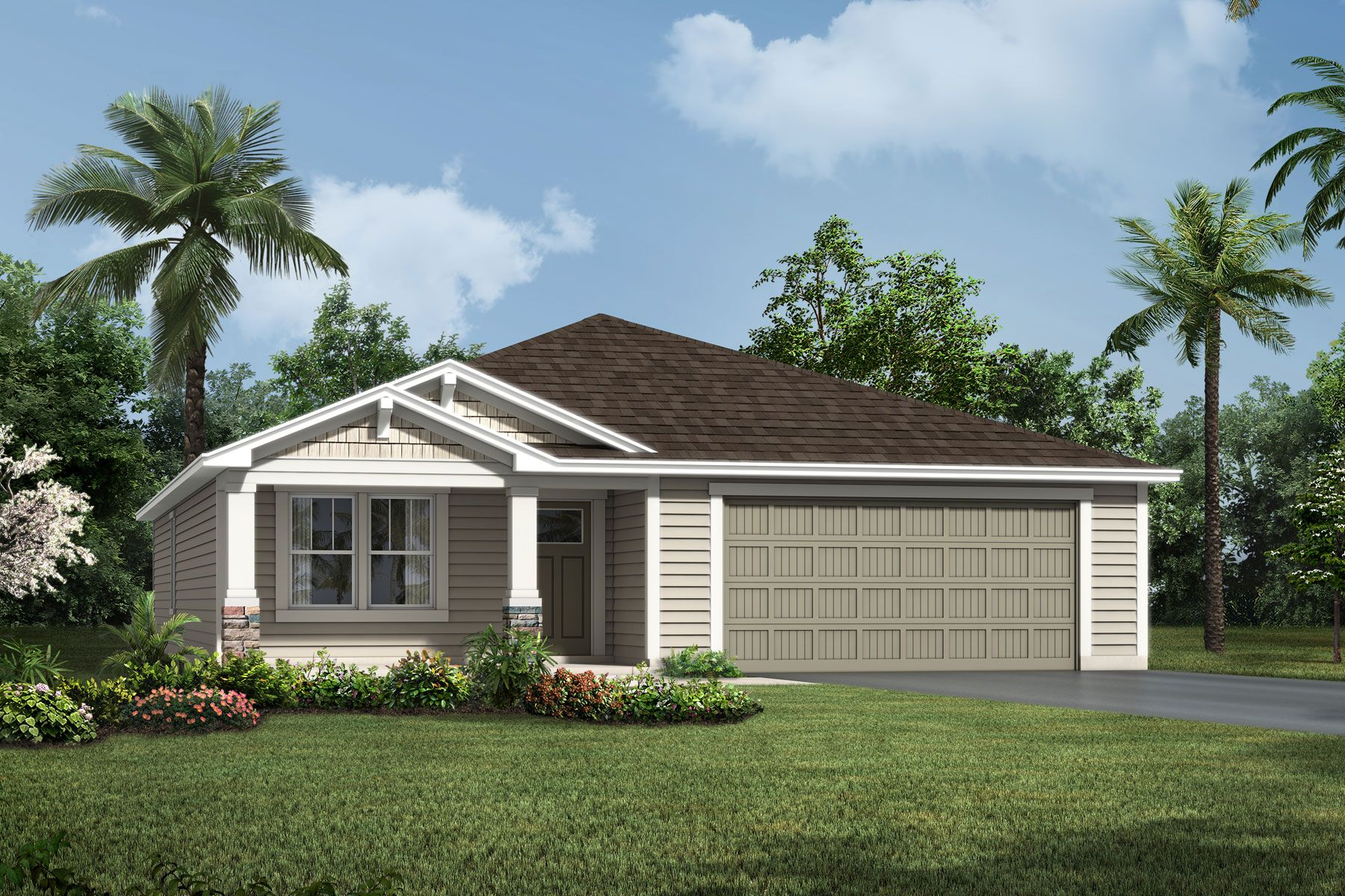 Exterior featured in the Aspen By Mattamy Homes in Jacksonville-St. Augustine, FL