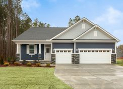 Hamilton II - Portofino: Clayton, North Carolina - Mattamy Homes