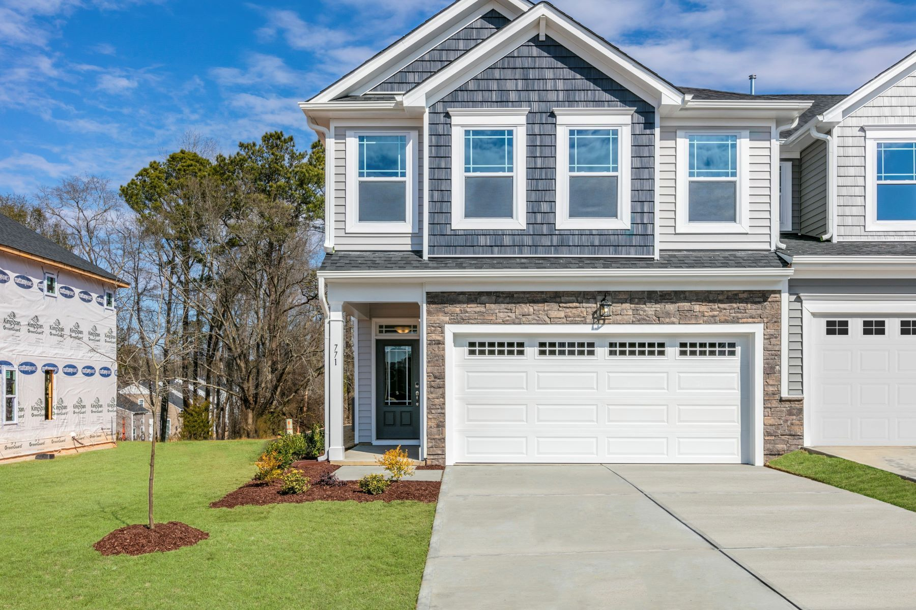 Exterior featured in the Blayre By Mattamy Homes in Raleigh-Durham-Chapel Hill, NC