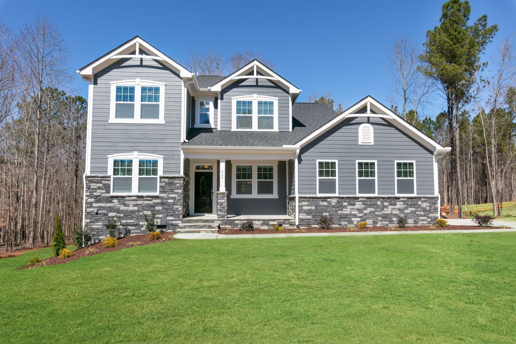 Exterior featured in the Larkin By Mattamy Homes in Raleigh-Durham-Chapel Hill, NC
